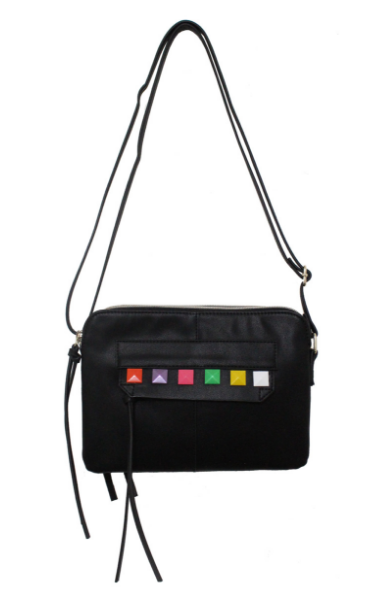 Zoe Crossbody in Black