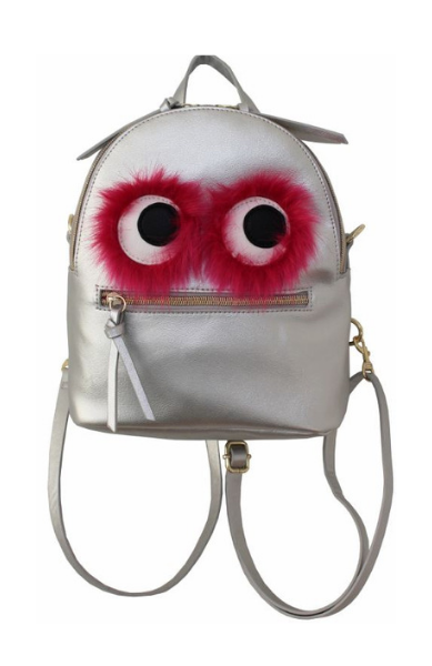 Monster Backpack in Silver