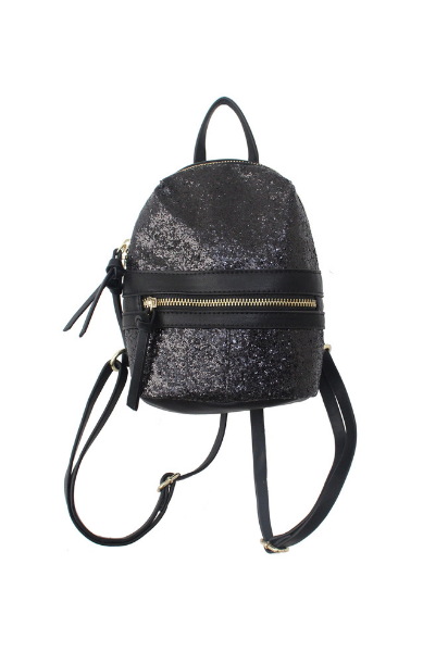 Glitter Galaxy Mini Backpack