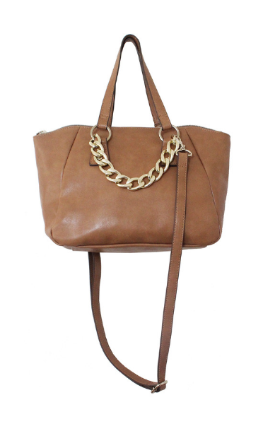 Adeline Satchel in Cognac