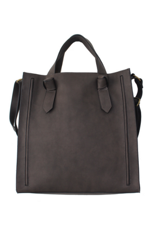 Marlena Mini Satchel in Brown