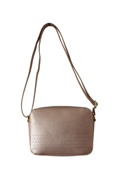 Anna Crossbody in Rose Gold