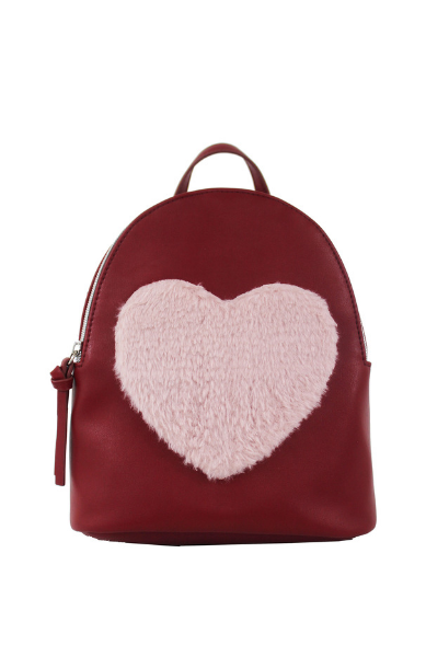 Love Furever Backpack in Wine & Blush