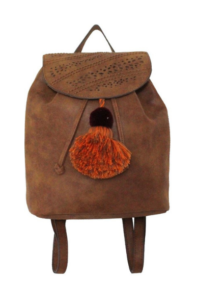 Sonata Backpack in Cognac