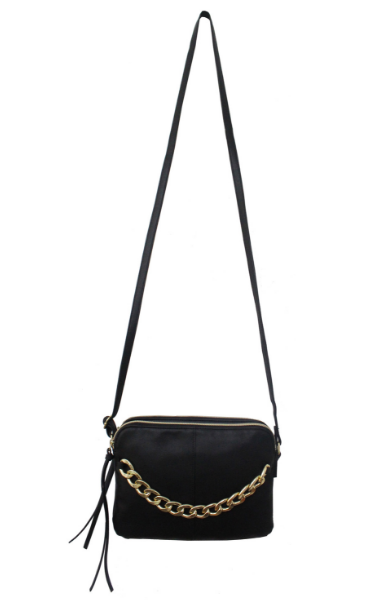 Madelyn Crossbody in Black