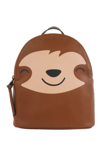 Sloth Backpack in Brown