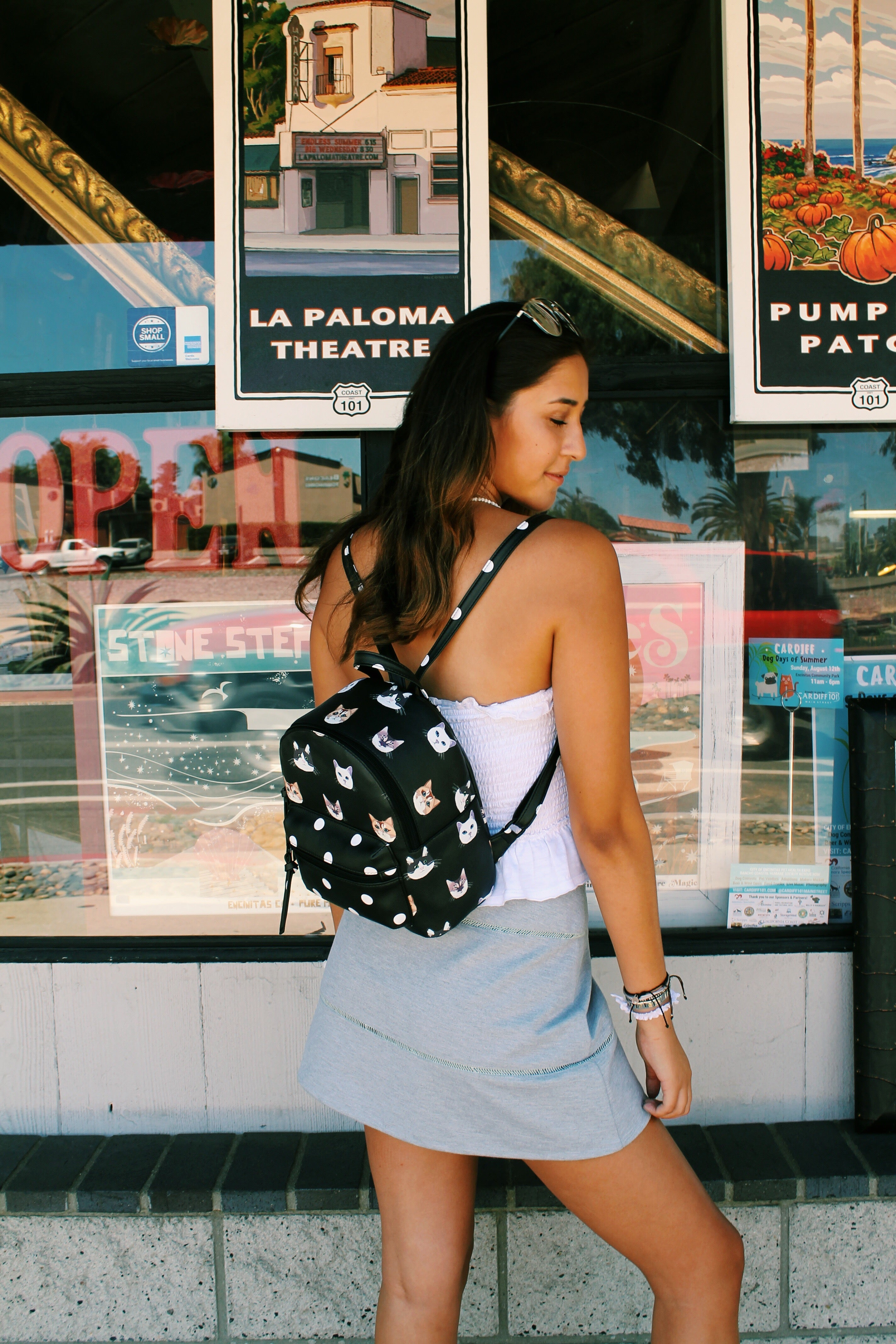 Nomi Dome Backpack in Black
