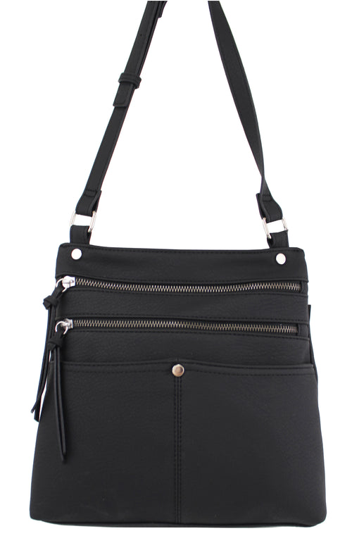 Lennox Crossbody in Black