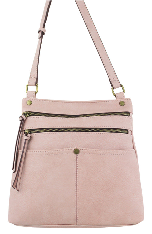 Lennox Crossbody in Rose