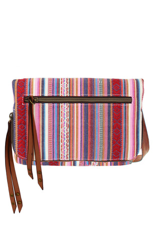 Tristan Crossbody in Grey