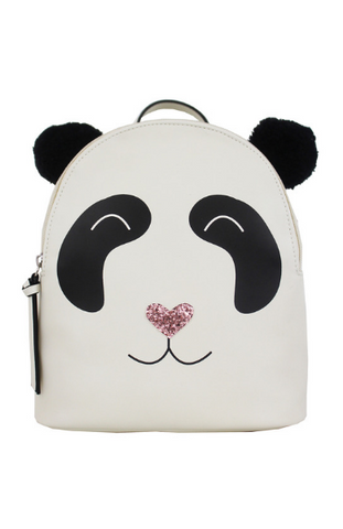 Blushing Llama Backpack in White