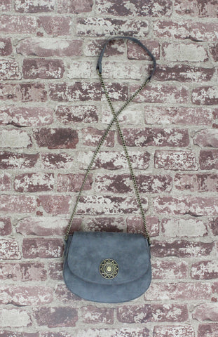 West Horizon Saddle Bag In Grey
