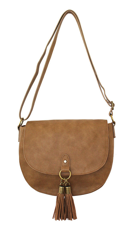 Vancouver Saddle Bag in Brown