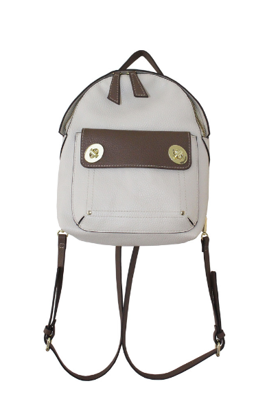 Two-Toned Backpack in Bone