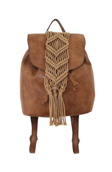 Summer Goodness Backpack in Cognac