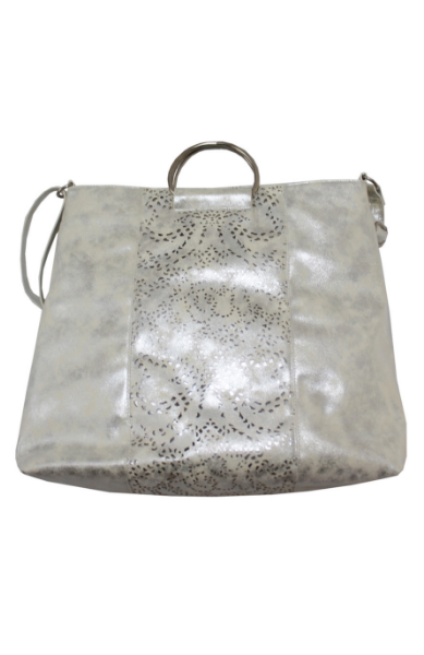 Dreamsicle Ring Tote in Silver