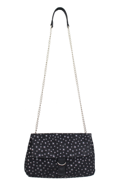 Tessa Slip Chain Crossbody in Starry Denim