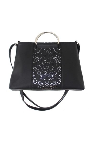 Dreamsicle Ring Satchel in Black