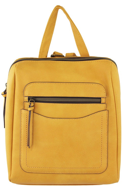 Mercer Backpack in Mustard
