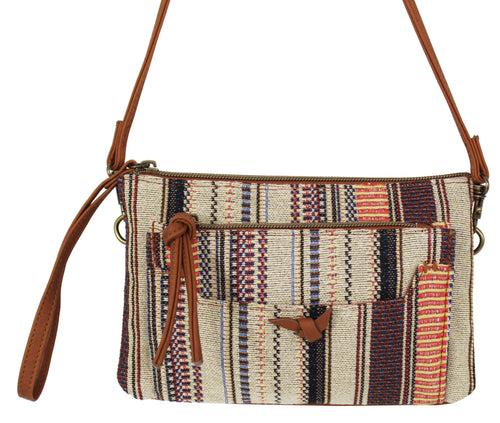 Maria Wristlet in Natural