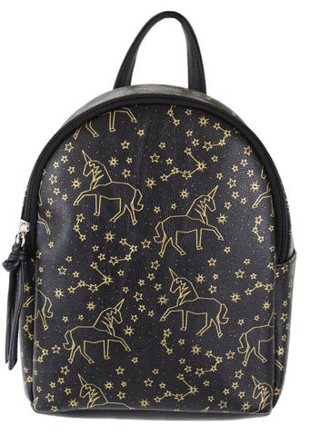 Emma Bow Backpack in Black