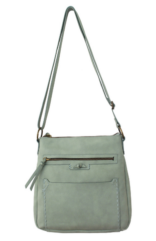 Lola Ring Handle Tote in Mint