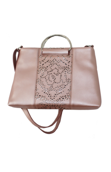 Dreamsicle Ring Satchel in Blush