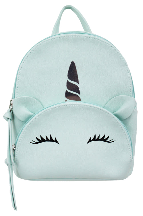 Unicorn Pocket Mikey Backpack in Mint