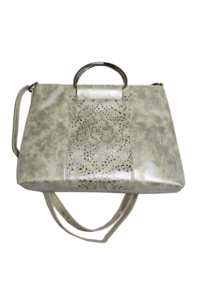 Dreamsicle Ring Satchel in Silver