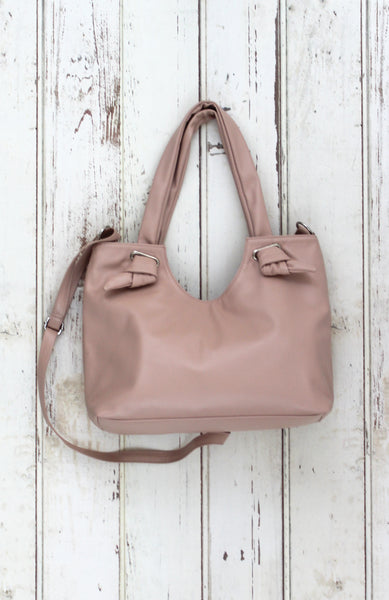 Dreamsicle Knotted Tote in Blush