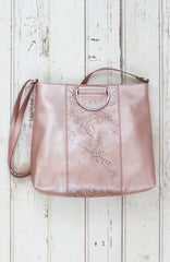 Dreamsicle Ring Tote in Blush