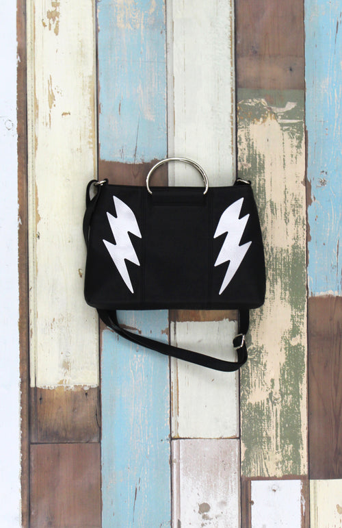 For the Record Ring Satchel in High Voltage