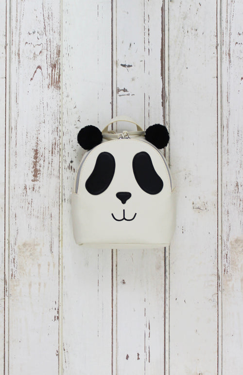 Panda Backpack in Black & White
