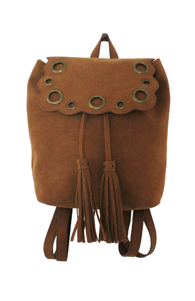 Vienna Backpack in Cognac