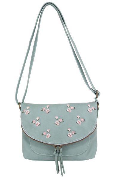 Parker Crossbody in Blue