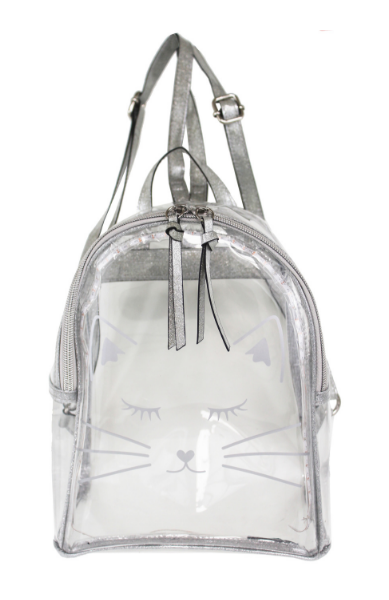 Lumi Backpack in Clear Silver