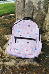 Campus Backpack in Lilac Llama