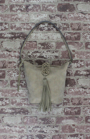 Zebra Dash Hobo in Sand