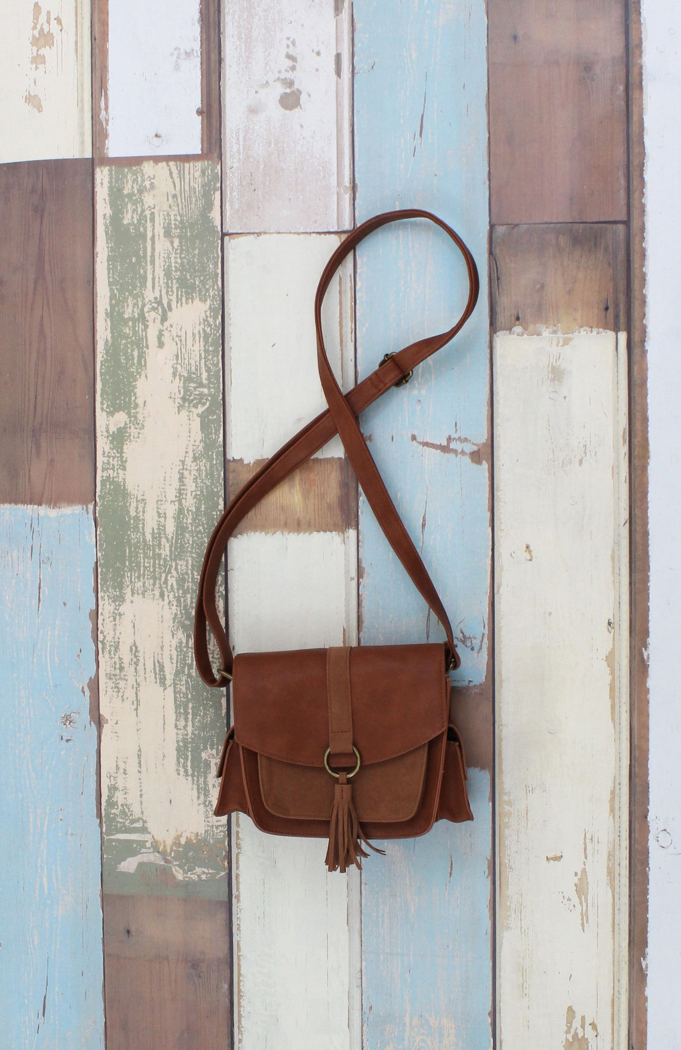 Flap Cross Body w/ Tassel