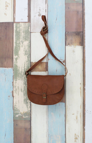 Flap Crossbody with Buckle