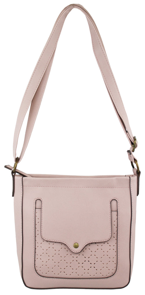 Madison Crossbody in Rose