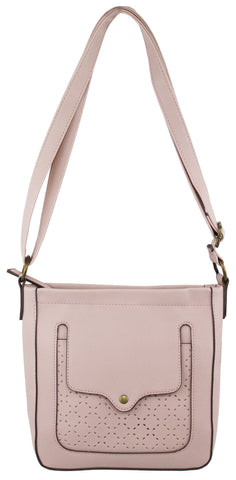 Claire Crossbody in Blush