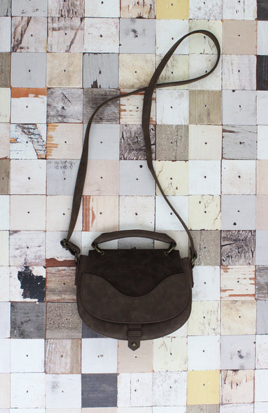 Casting Shadow Top Handle Crossbody in Brown