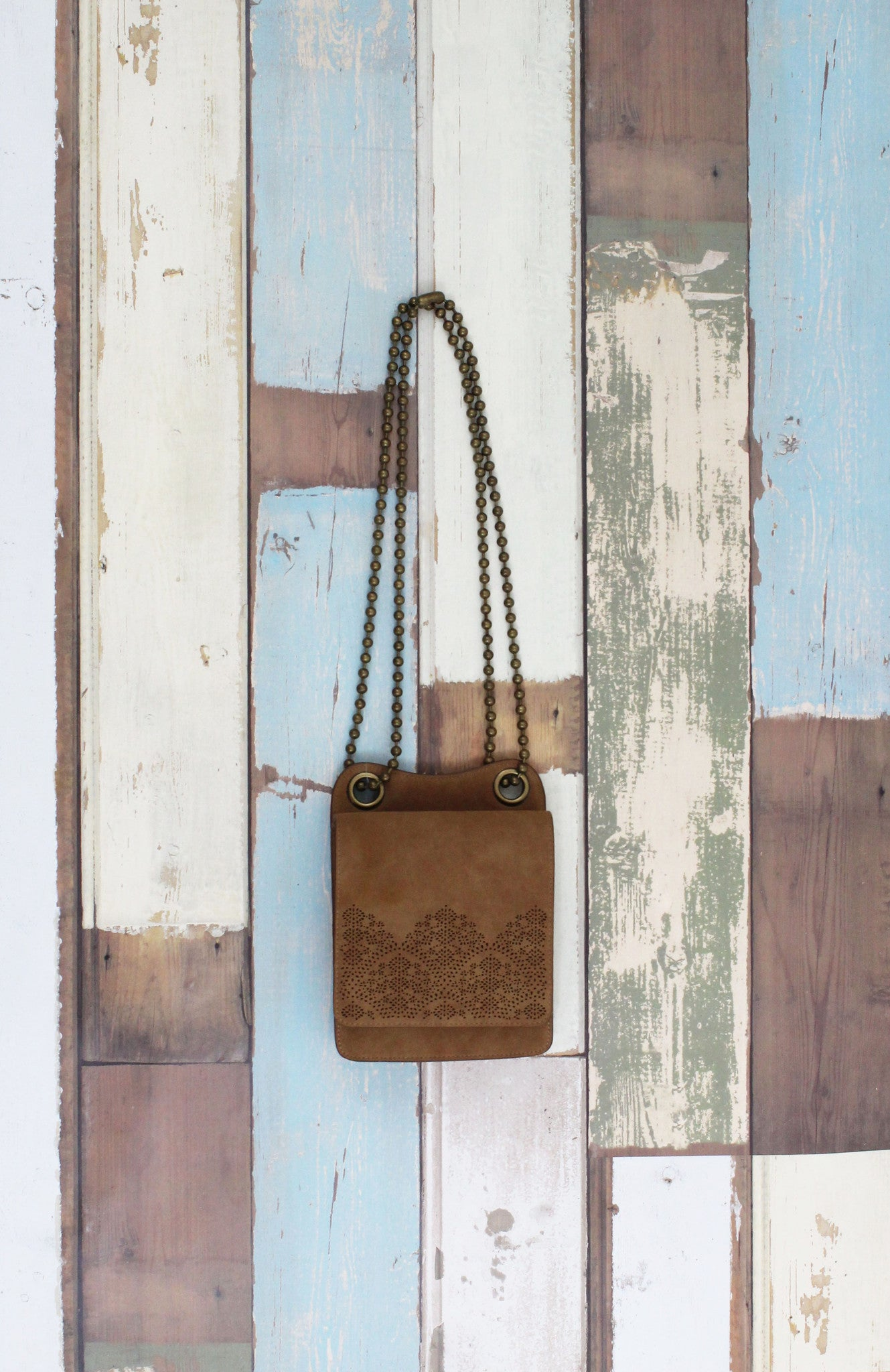 Perf Mini Crossbody In Tan