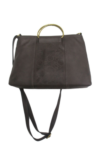 Sasha Ring Satchel in Brown