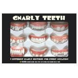 Accoutrements Gnarly Teeth, Set of 9 - Funzalo Toys