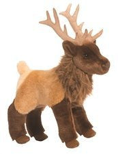 "11"" LOOPER the ELK Stuffed Animal by Douglas Cuddle Toys (1898) - Funzalo Toys"