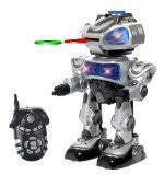 Robokid Programmable Disc Shooting Electric RC Robot - Funzalo Toys
