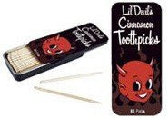 Accoutrements Lil' Devil's Cinnamon Toothpicks - Funzalo Toys
