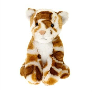 "6"" Lennox the Leopard Stuffed Animal Beanbag Lil' Buddies Toy by Fiesta Toys - Funzalo Toys"
